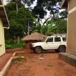 The PATH vehicle parked in the staff quarters at Kityeyera Health Center IV, Mayuge district.