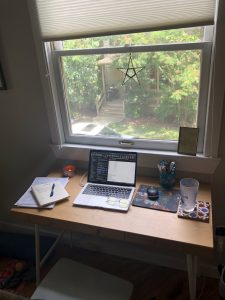 My home workspace.