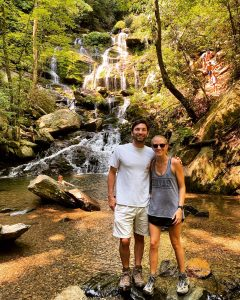 The benefits of a remote practicum include making the most of North Carolina's beautiful hikes.