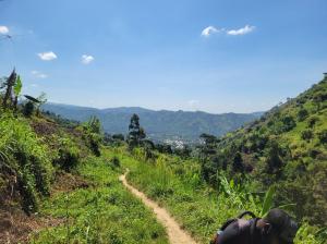 Hiking to Mirimbo Village