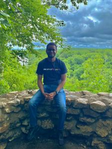 Taking in the scenery